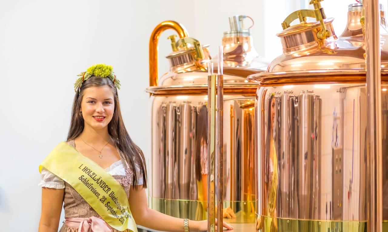 1. Holzländer Bierkönigin der Saison 2017/2018